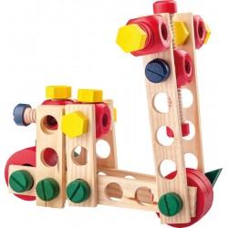 Zestaw konstrukcyjny - 100 elementów