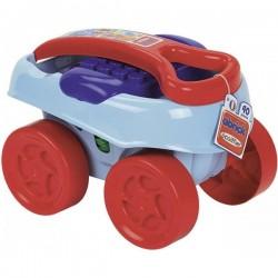 ECOIFFIER Wózek z Klockami Błękitny