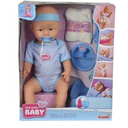 SIMBA New Born Baby Lalka Funkcyjna