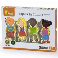 VIGA Figurki Magnetyczne - Dzieci