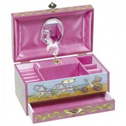 Goki pozytywka z szufladką księżniczka z jednorożcem