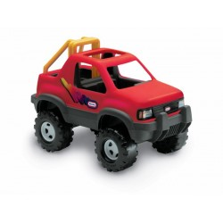 LT Auto Sportowe Jeep Terenowy- Czerwony