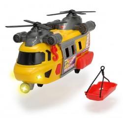 DICKIE A.S. Helikopter Ratunkowy Żółty 30cm