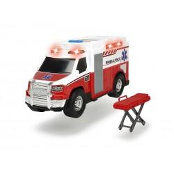 DICKIE A.S. Ambulans Czerwony 30cm