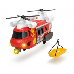 DICKIE A.S. Helikopter Ratunkowy Czerwony 30cm