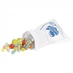 Szklaki Marbles - Szklane kulki 50 sztuk w woreczku