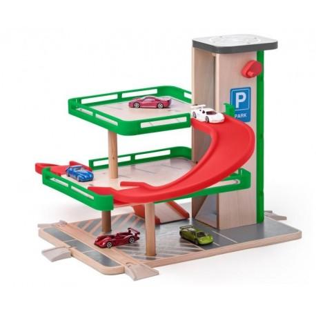 Zabawka dla chłopca Garaż z autkami SIKU
