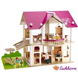 EICHHORN Domek Dla Lalek Drewniany
