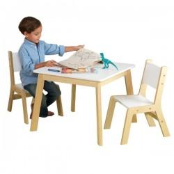 KIDKRAFT Nowoczesny Stolik z 2 krzesłami