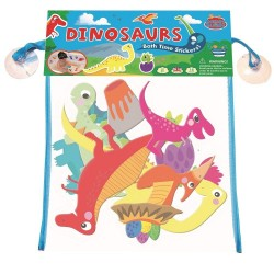 Naklejki do kąpieli dinozaury