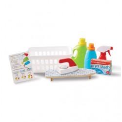 Zabawka dla dziecka Akcesoria do prania i prasowania