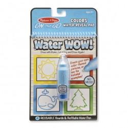Kolorowanka wodna kształty - WaterWow