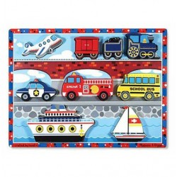Melissa and Doug puzzle 3d  środki transportu