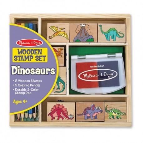 Zestaw Stempelki Dinozaury