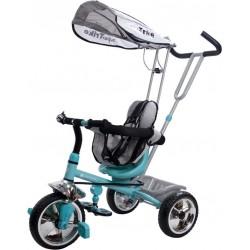 Rowerek trójkołowy Super Trike - turkusowy