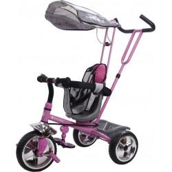 Rowerek trójkołowy Super Trike - różowy
