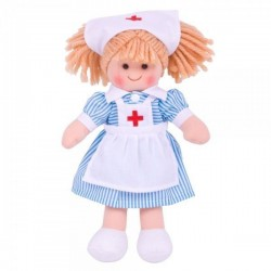 Lalka szmaciana pielęgniarka