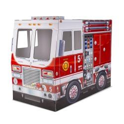 Wóz strażacki z kartonu