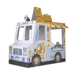 FoodTruck Wóz z jedzeniem z kartonu