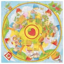 Puzzle sadzenie truskawek