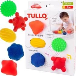 Piłki sensoryczne 5 sztuk - Tullo