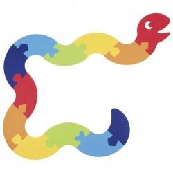 Puzzle podłogowe filcowe - Wąż