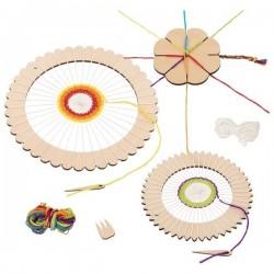 Krosno tkackie okrągłe Goki