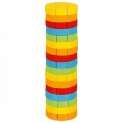 """Okrągła wieża """"Jenga"""""""