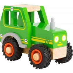 Traktor zabawka drewniana Tadeusz