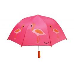 Parasol z flamingiem