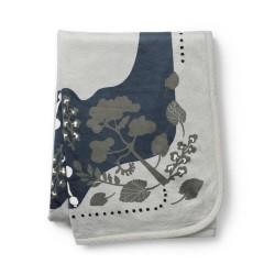 Elodie Details - Kocyk Pearl Velvet - Rebel Poodle Mineral Green