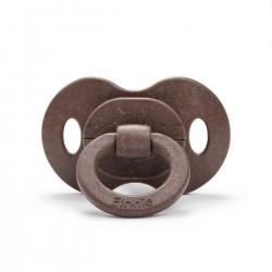 Elodie Details - Smoczek bambusowy lateksowy 3m+ - Chocolate