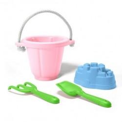 Green Toys zestaw do piasku Różowy