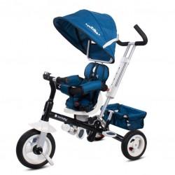Super Trike Plus z obr. siedzeniem - granatowy