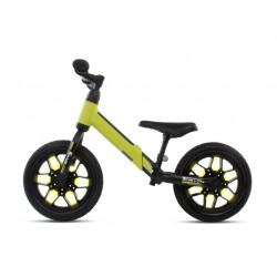 Rowerek biegowy SPARK zielony z kołami LED