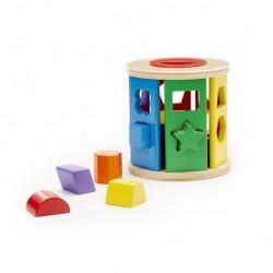 Sorter kształtów i kolorów roller
