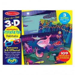 Naklejki 3D zwierzęta