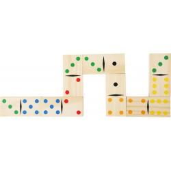 Domino gigantyczne w torbie