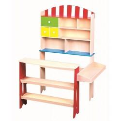 Sklep - Supermarket drewniany