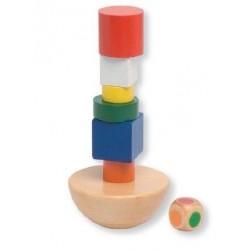 Balansująca wieża - gra drewniana