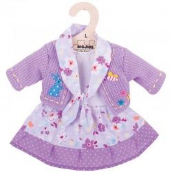 Ubranko dla lalki fioletowe