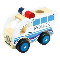 Autko drewniane - Policja