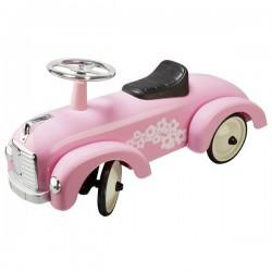 Jeździk Goki - retro różowy