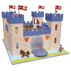 Zabawka drewniana - Zamek królewski
