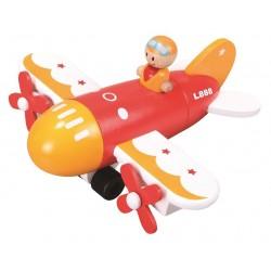 Magnetyczny samolot do składania dla malucha