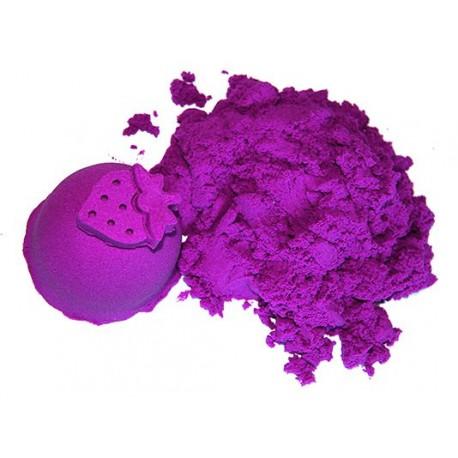 Polski piasek kinetyczny ColorSand jagodowy  1 kg