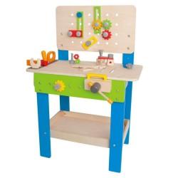 Warsztat mechanika ze stołem - zabawka Hape