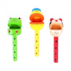 Kołatki zwierzaki instrument dla dziecka