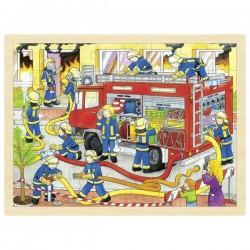 Puzzle duże straż pożarna