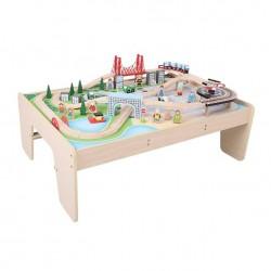 Zestaw kolejkowy Miasto - stół z kolejką
